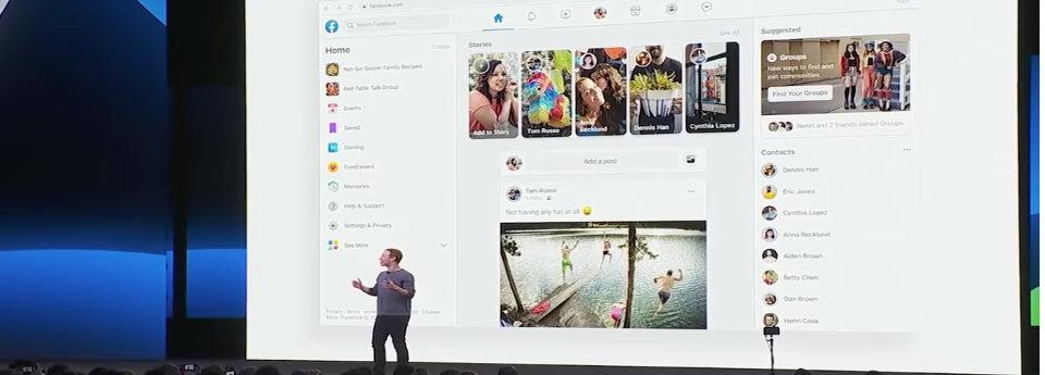 Facebook konferencija puslapio naujove Colifa chatbot