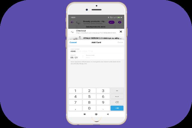 atsiskaitymas per messenger chatbot tiesiogiai